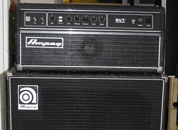 Backline bass amplifiers